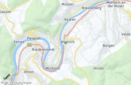 Stadtplan Wintrich