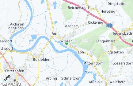 Stadtplan Winzer