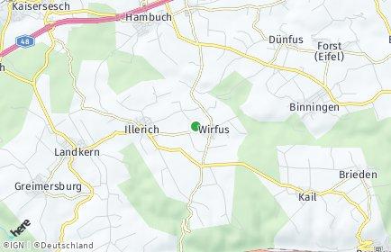 Stadtplan Wirfus