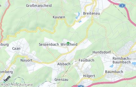 Stadtplan Wirscheid