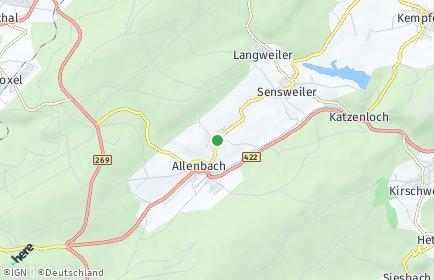 Stadtplan Wirschweiler