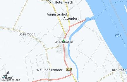 Stadtplan Wischhafen