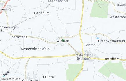 Stadtplan Wittbek