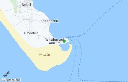 Stadtplan Wittdün auf Amrum
