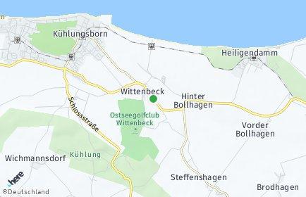 Stadtplan Wittenbeck