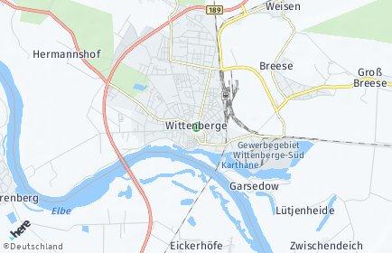 Stadtplan Wittenberge