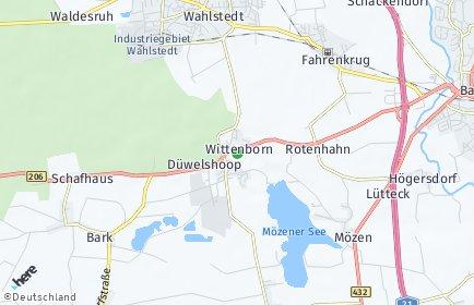Stadtplan Wittenborn