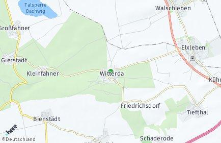 Stadtplan Witterda