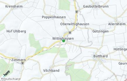 Stadtplan Wittighausen
