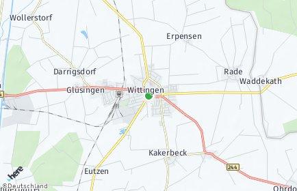 Stadtplan Wittingen