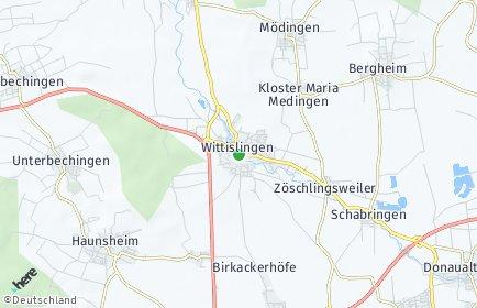 Stadtplan Wittislingen