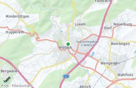 Stadtplan Wittlich