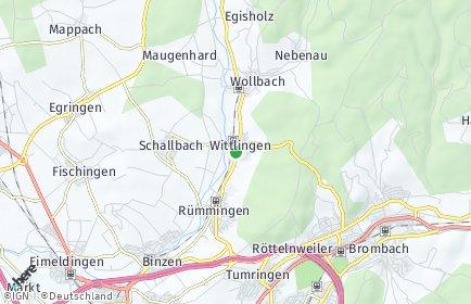 Stadtplan Wittlingen