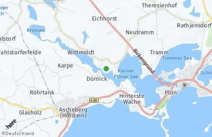 Stadtplan Wittmoldt