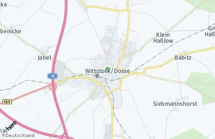 Stadtplan Wittstock/Dosse