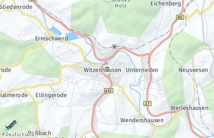 Stadtplan Witzenhausen