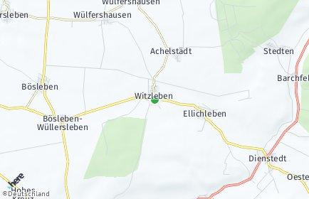 Stadtplan Witzleben