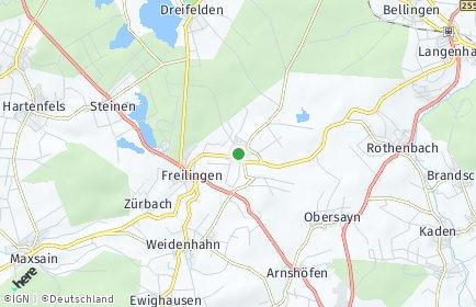 Stadtplan Wölferlingen