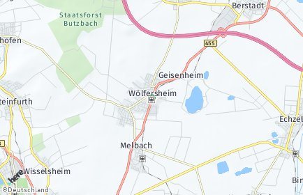 Stadtplan Wölfersheim