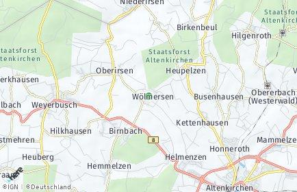 Stadtplan Wölmersen