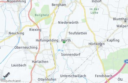 Stadtplan Wörth (Landkreis Erding)