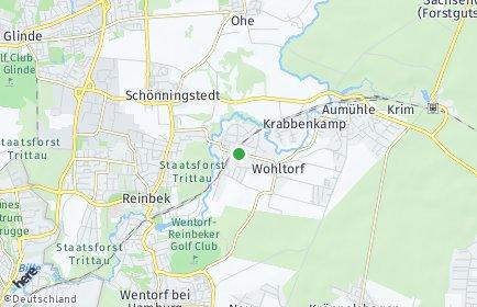 Stadtplan Wohltorf