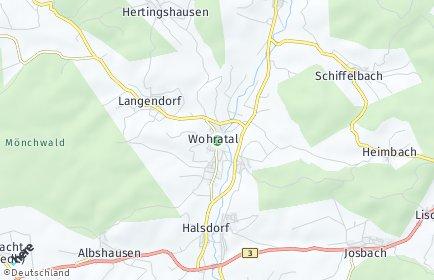 Stadtplan Wohratal