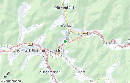 Stadtplan Wolfach