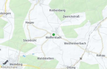 Stadtplan Wolferstadt