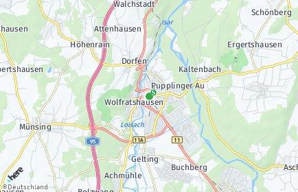 Stadtplan Wolfratshausen