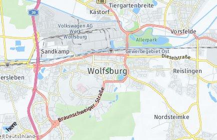 Stadtplan Wolfsburg