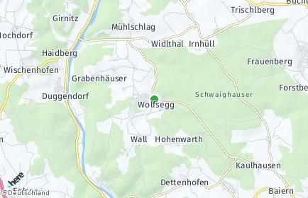 Stadtplan Wolfsegg
