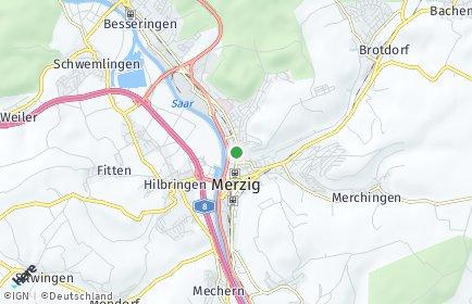 Stadtplan Merzig-Wadern