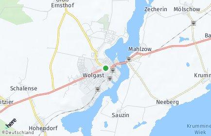 Stadtplan Wolgast