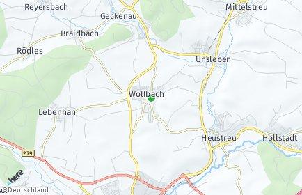 Stadtplan Wollbach