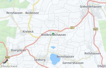 Stadtplan Wollbrandshausen