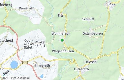 Stadtplan Wollmerath