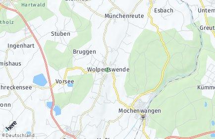 Stadtplan Wolpertswende