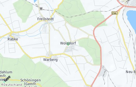 Stadtplan Wolsdorf
