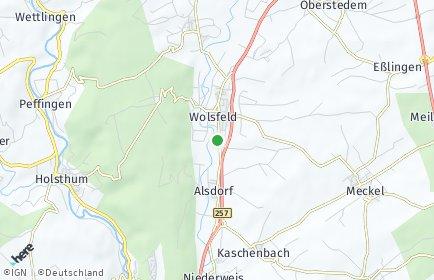 Stadtplan Wolsfeld