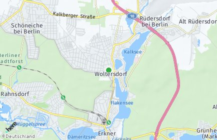 Stadtplan Woltersdorf bei Berlin