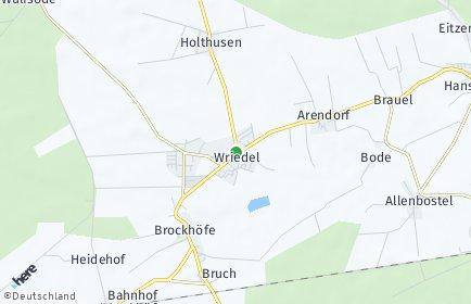 Stadtplan Wriedel