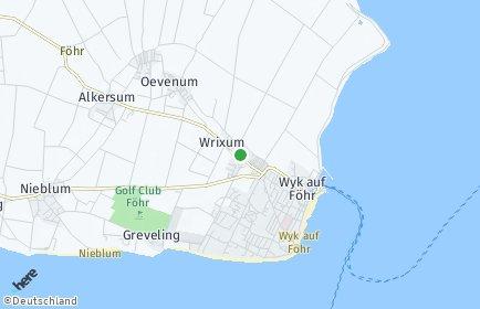 Stadtplan Wrixum