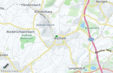 Stadtplan Wülfrath