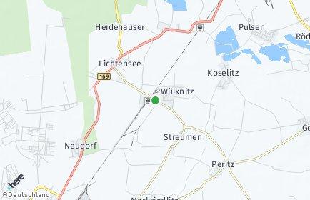 Stadtplan Wülknitz