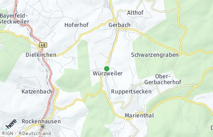Stadtplan Würzweiler