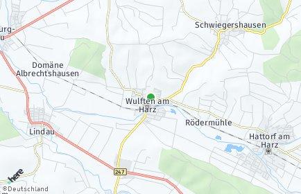 Stadtplan Wulften am Harz
