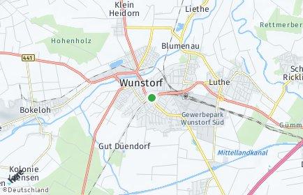 Stadtplan Wunstorf