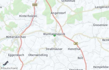 Stadtplan Wurmannsquick