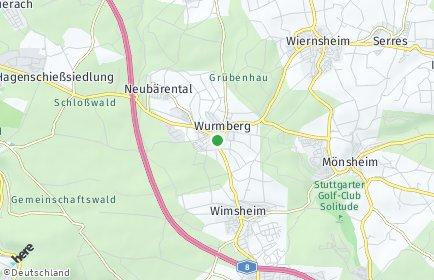 Stadtplan Wurmberg